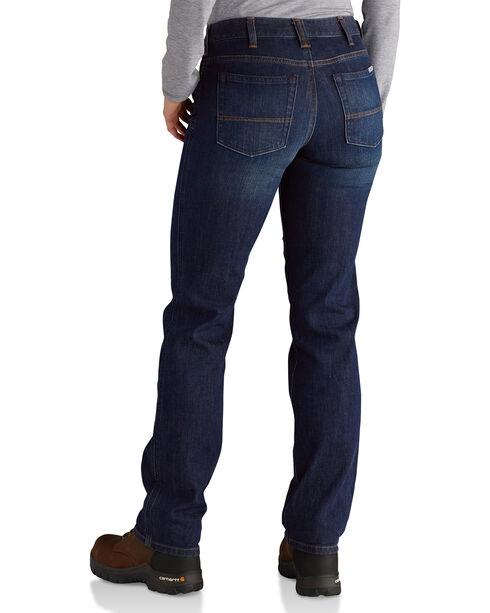 Carhartt Women's Original Fit Straight Leg Blair Jeans, Indigo, hi-res