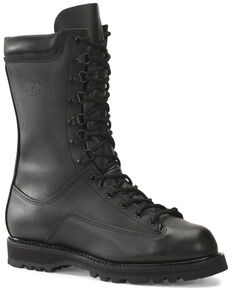 Corcoran Men's Waterproof Lace-Up Work Boots - Steel Toe, Black, hi-res