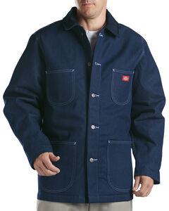 Dickies Blanket Lined Denim Chore Coat, Blue, hi-res