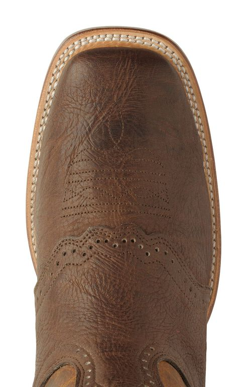 Boulet Saddle Buckaroo Boots - Square Toe, Chestnut, hi-res