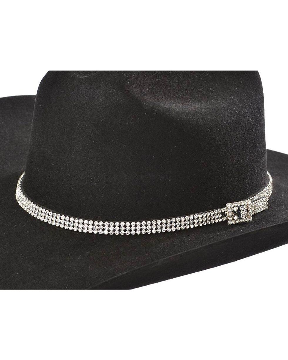 Clear Rhinestones Hat Band, Clear, hi-res