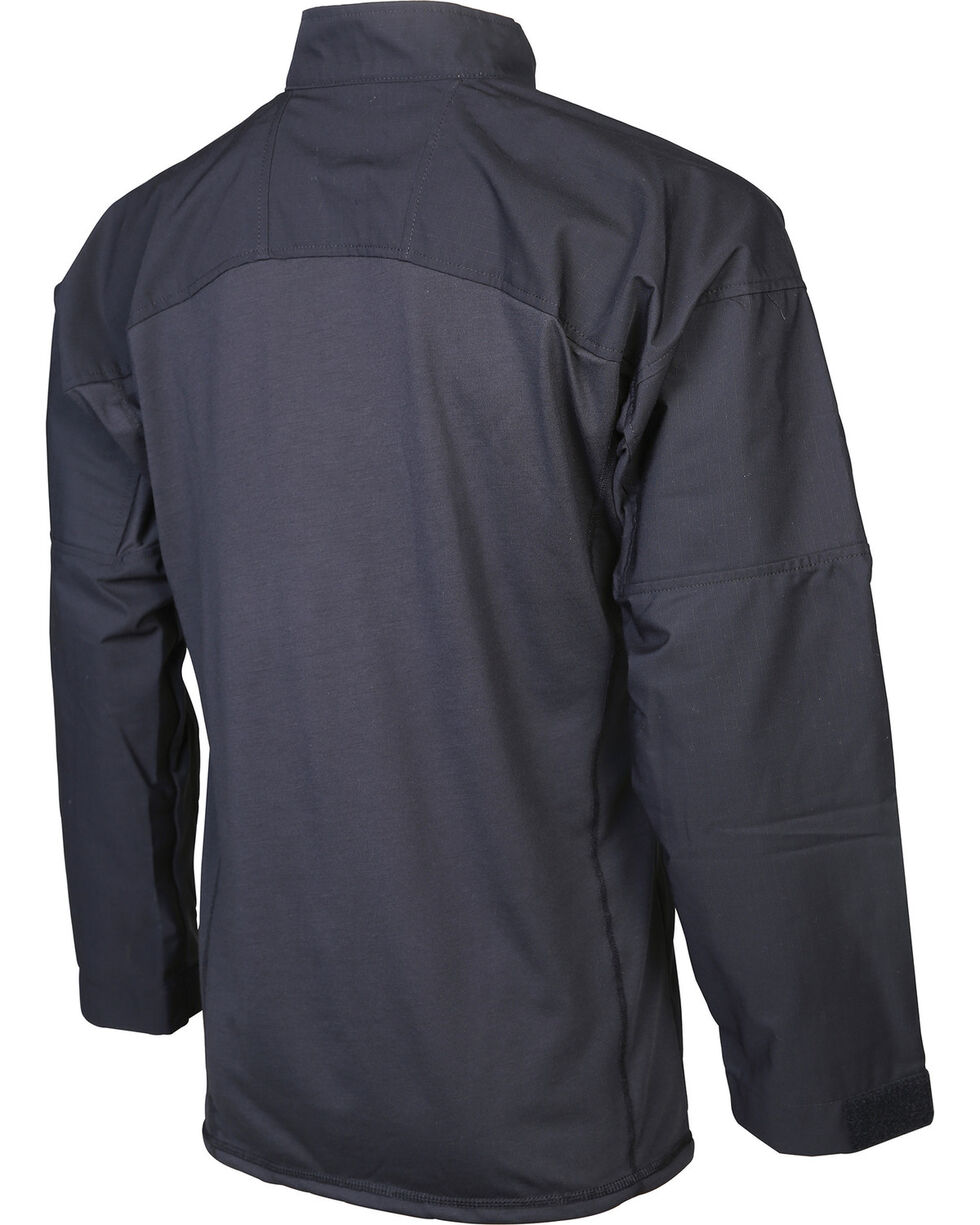 Tru-Spec Men's 24-7 Series Responder Long Sleeve Shirt - Tall, Black, hi-res