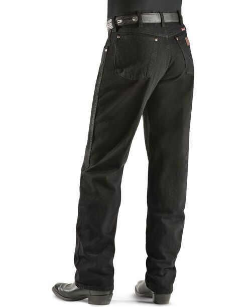 Wrangler jeans - 31MWZ relaxed fit prewashed colors - Tall, Shadow Black, hi-res