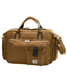 Carhartt Men's Brown Legacy Brief Bag , Brown, hi-res