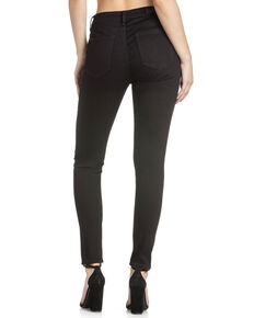 Miss Me Women's Slim Fit Skinny Jeans , Black, hi-res