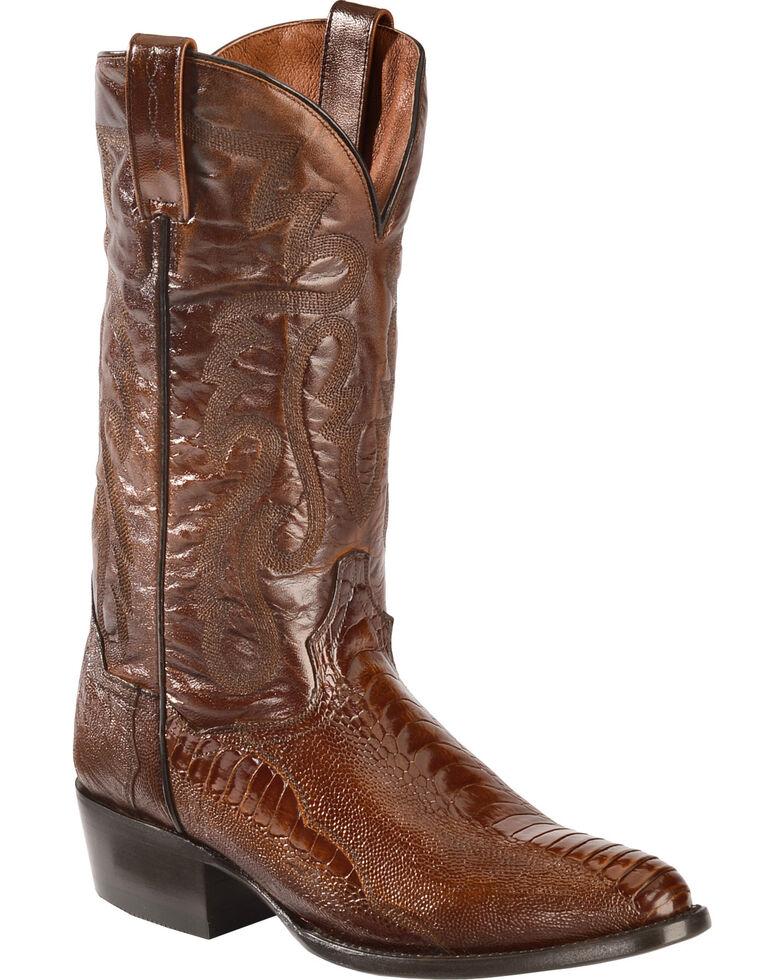 88f55f06621 Dan Post Ostrich Leg Boots - Medium Toe