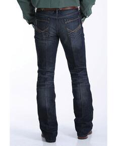 Cinch Men's Ian Med Rinse Slim Boot Jeans , Indigo, hi-res