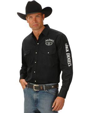 Jack Daniel's Logo Rodeo Cowboy Shirt, Black, hi-res