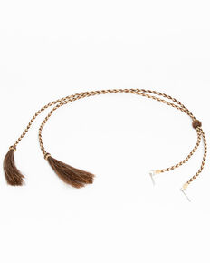 Shyanne Women's Stampede String Hatband, Brown, hi-res