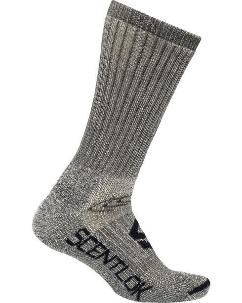 Scentlok Technologies Men's Thermal Boot Socks, Grey, hi-res