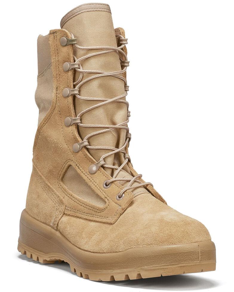 Belleville Women's Hot Weather Combat Boots, Coyote, hi-res