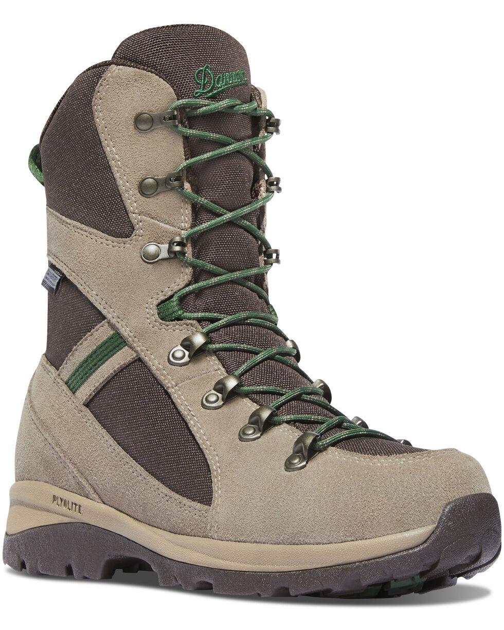 """Danner Women's Brown/Buff Wayfinder 8"""" Waterproof Boots - Round Toe, Brown, hi-res"""