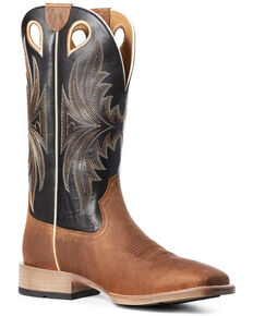 Ariat Men's Granger Western Boots - Wide Square Toe, Brown, hi-res