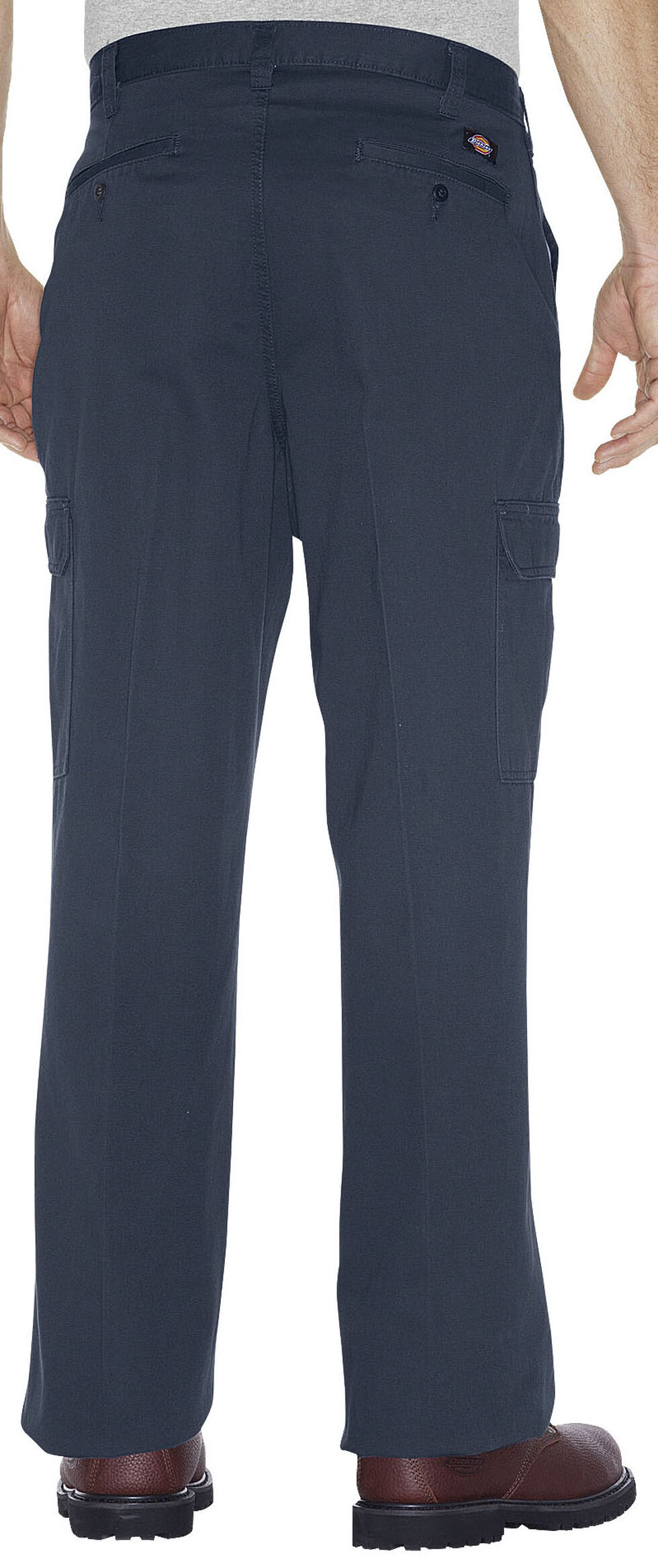 Dickies Loose Fit Cotton Cargo Pants - Big and Tall, Navy, hi-res