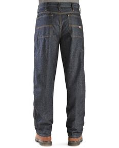 Cinch WRX Flame-Resistant Blue Label Carpenter Jeans, Dark Rinse, hi-res