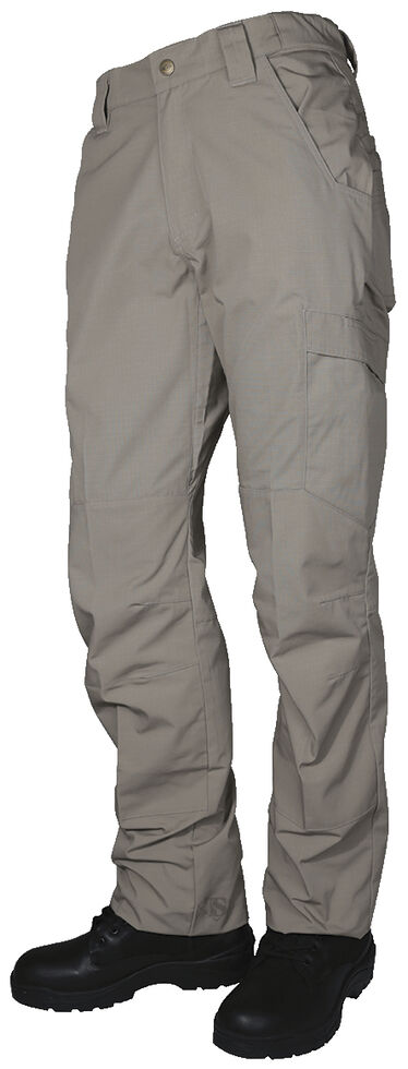 Tru-Spec Men's 24-7 Khaki Vector Pants , Beige, hi-res