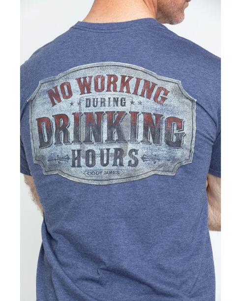 Cody James Drinking Hours Short Sleeve T-Shirt, Blue, hi-res