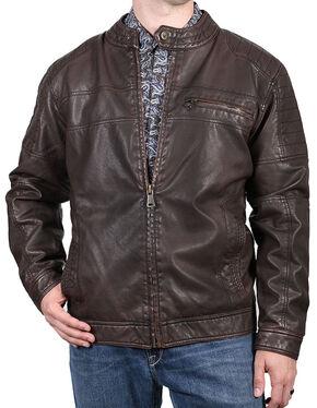 Cody James Men's Easy Rider Jacket, Brown, hi-res