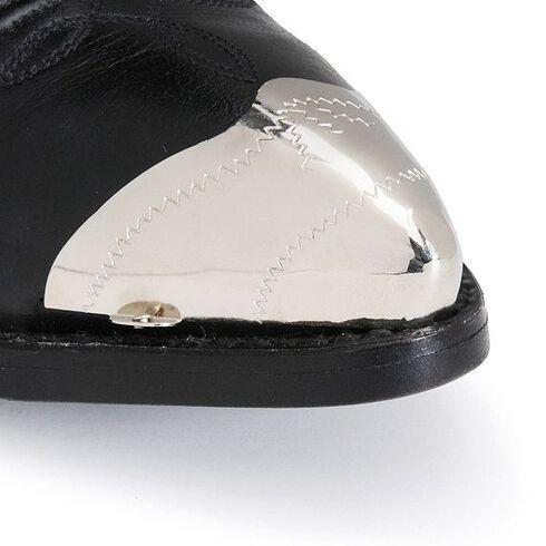 Small Silver-Tone Toe Cap, Silver, hi-res