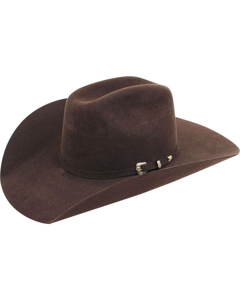 Ariat Maverick 6X Rabbit Fur Felt Cowboy Hat, Chocolate, hi-res