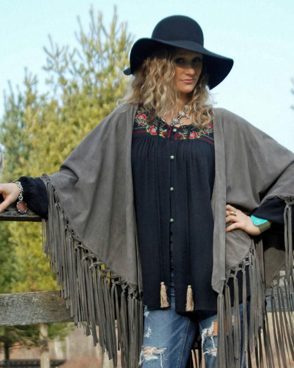 Tasha Polizzi Women's Meadow Shirt, Black, hi-res