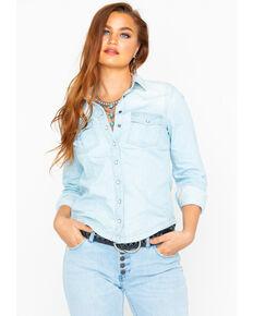 Idyllwind Women's Shacket Jacket , Blue, hi-res