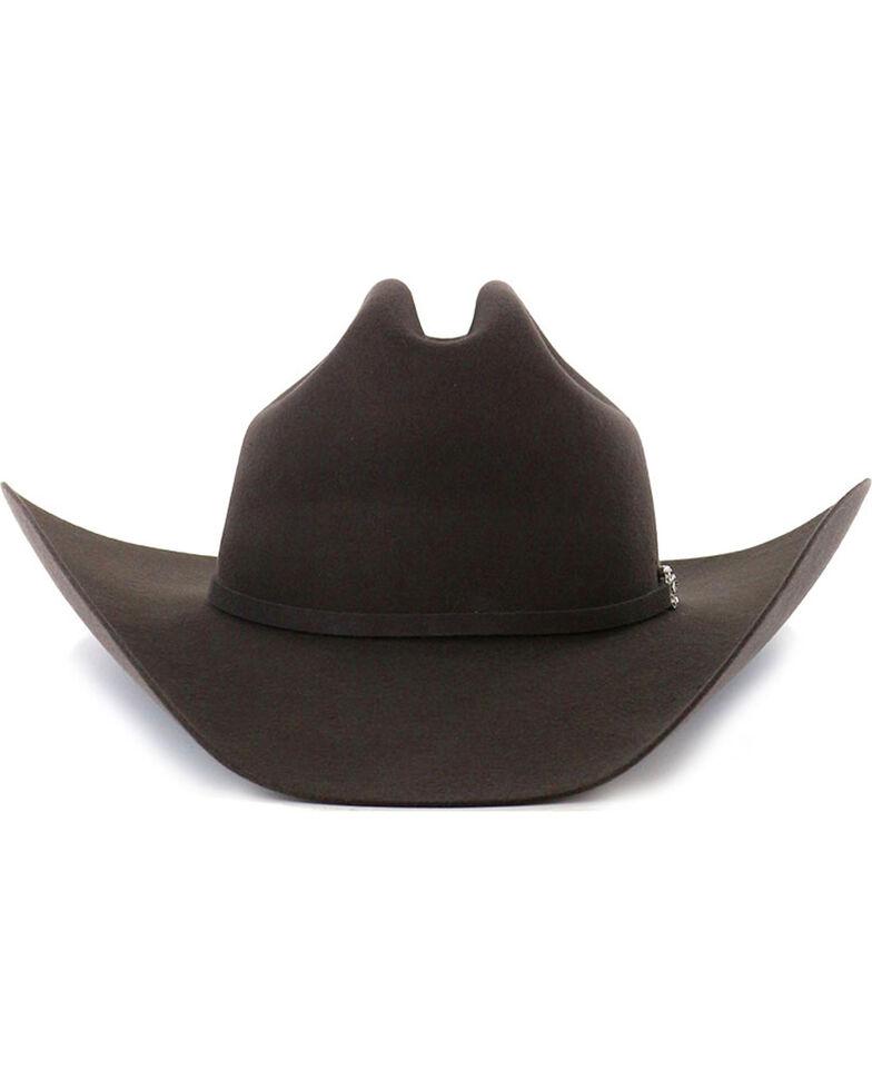George Strait by Resistol Logan 6X Black Fur Felt Cowboy Hat  1ca13eb8214