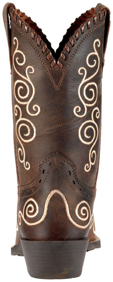 Ariat Girls' Shelleen Cowgirl Boots - Snip Toe, Distressed, hi-res