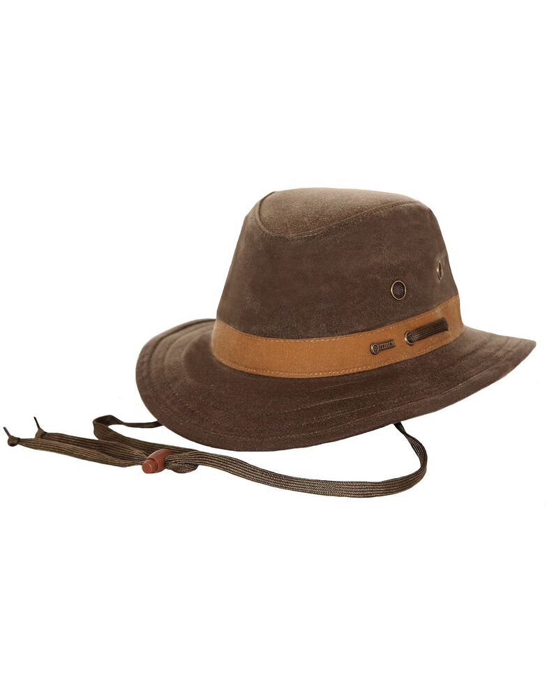 Outback Trading Co. Oilskin Willis Hat, Sage, hi-res