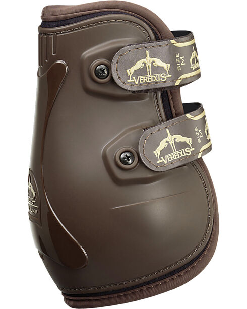 Veredus Pro Jump Brown Rear Ankle Boots, , hi-res
