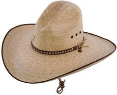Charlie 1 Horse 15X Bandito Straw Cowboy Hat, Natural, hi-res