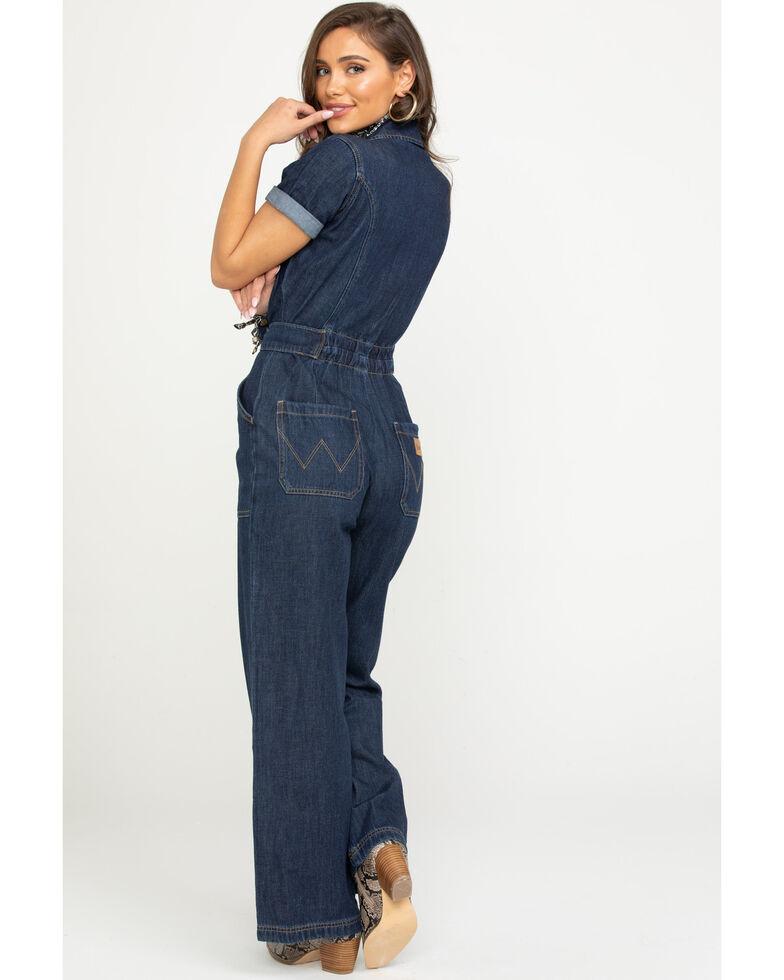 Wrangler Modern Women's Dark Blue Coveralls, Dark Blue, hi-res
