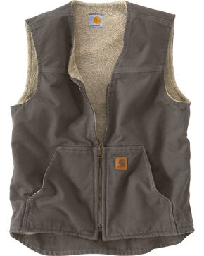 Carhartt Rugged Work Vest, Grey, hi-res