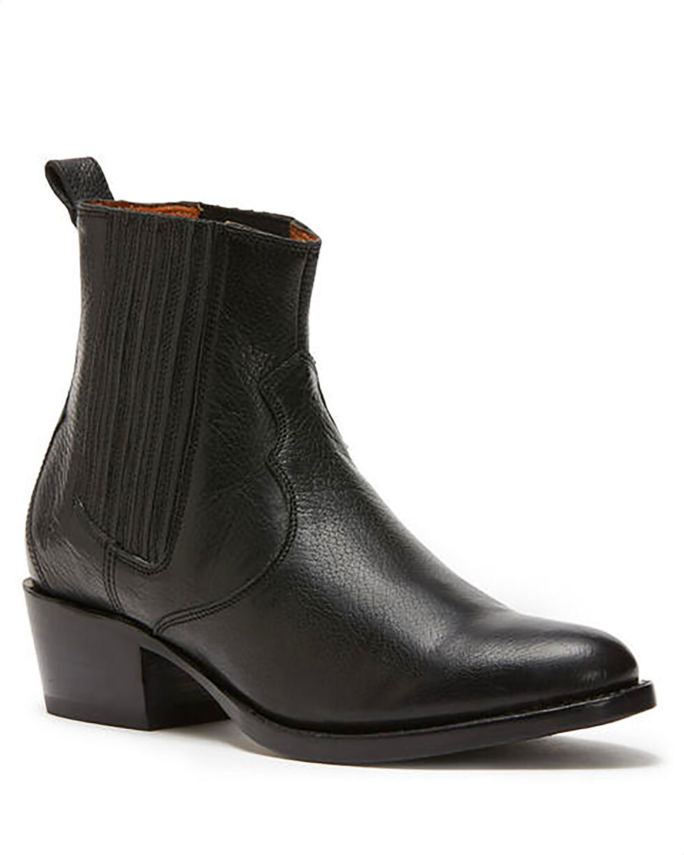 Frye Women's Black Diana Chelsea Booties - Round Toe , Black, hi-res