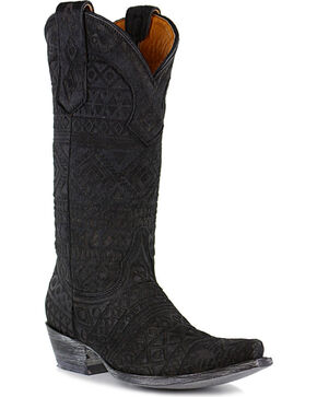 Old Gringo Women's Zorrilla Western Boots - Snip Toe, Black, hi-res