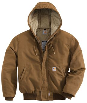Carhartt Flame Resistant Midweight Active Jacket - Big & Tall, Brown, hi-res