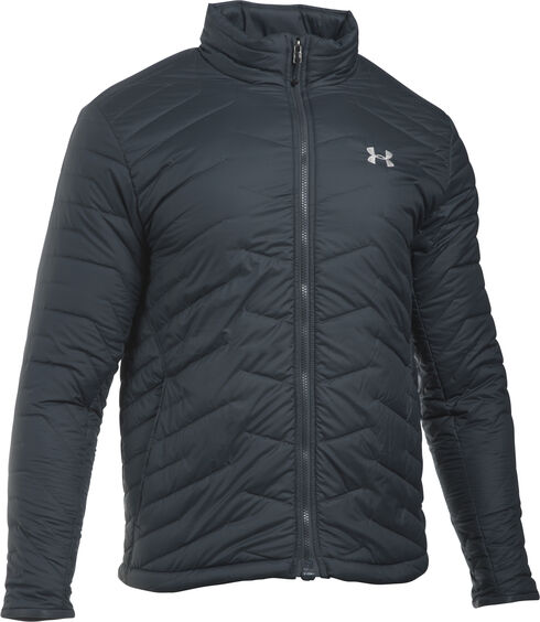 Under Armour ColdGear Reactor Jacket, Charcoal Grey, hi-res
