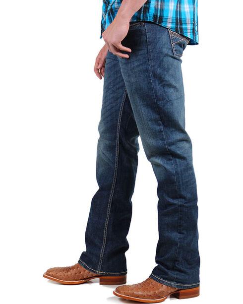 Wrangler 20X Men's Vintage Boot Cut Jeans , Dark Blue, hi-res