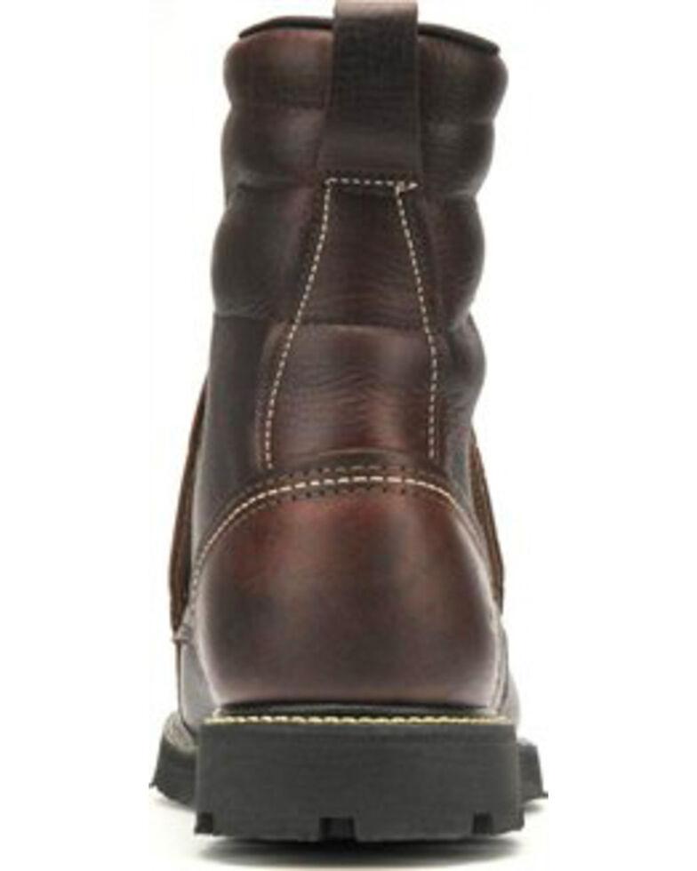 Carolina Men's Dark Brown Domestic MetGuard Boots - Steel Toe, Dark Brown, hi-res