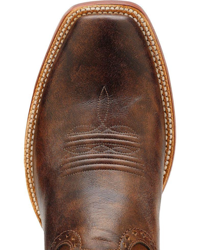 Ariat Turnback Cowboy Boots - Square Toe, Brown, hi-res