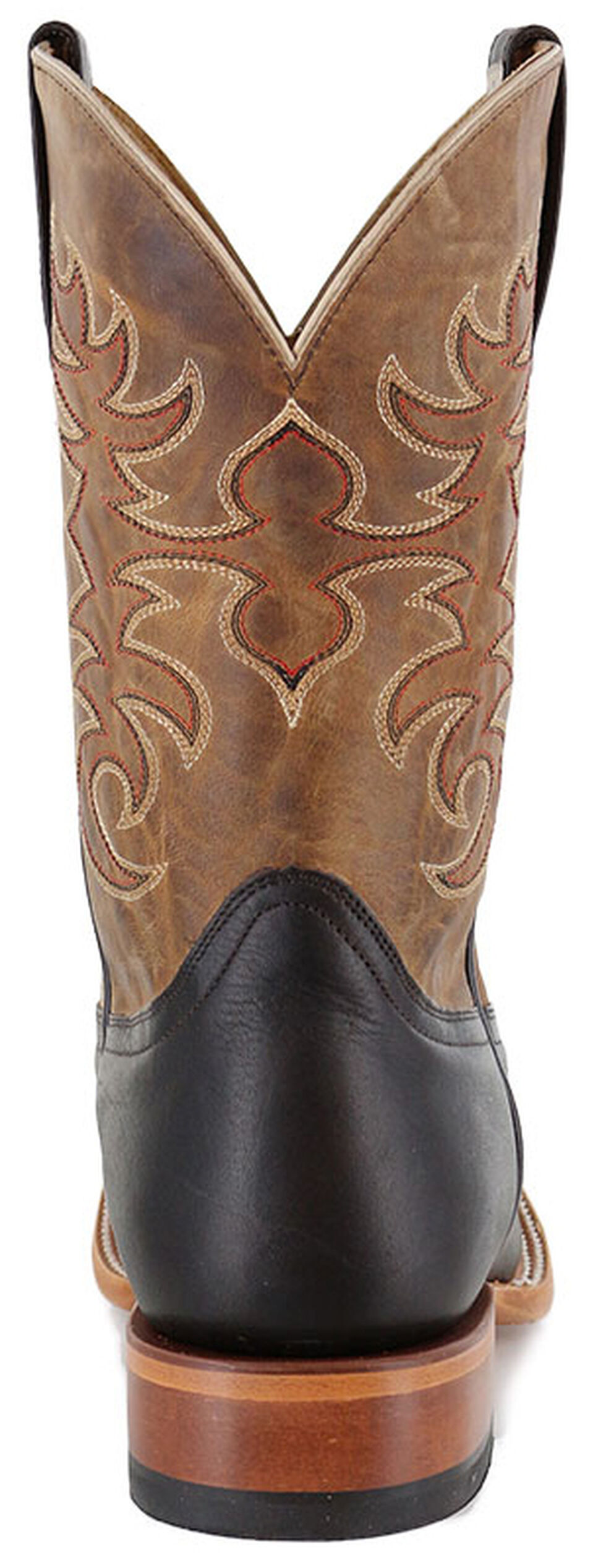 Cody James Men's Chocolate Xala Western Boots - Wide Square Toe, Brown, hi-res
