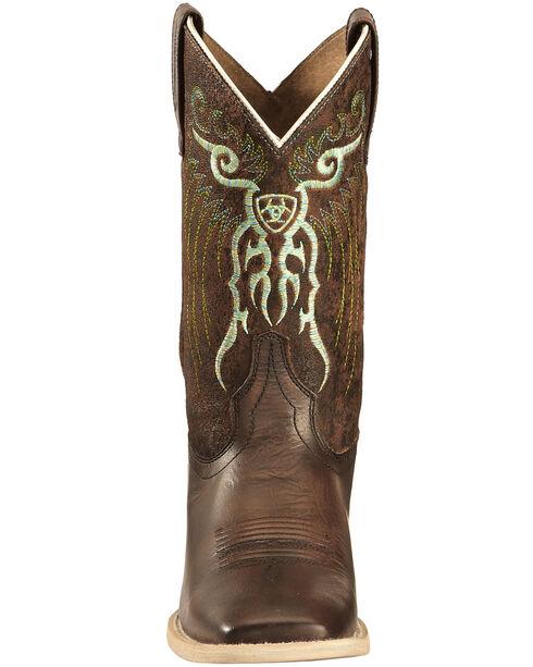 Ariat Boys' Copper Mesteno Boots - Wide Square Toe , Copper, hi-res