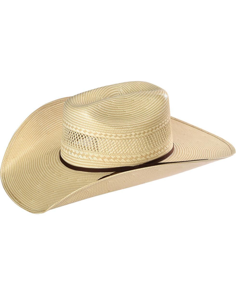 Resistol Men's Solano Promo Straw Hat, Tan, hi-res