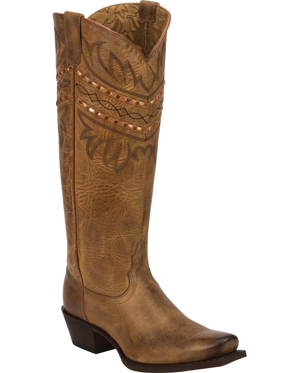 Tony Lama Latigo Tucson 100% Vaquero Cowgirl Boots - Square Toe, , hi-res