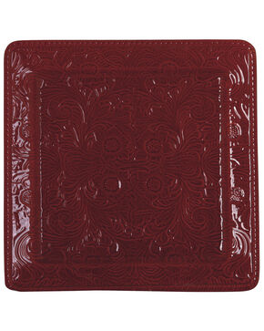 HiEnd Accents Savannah Serving Plate, Red, hi-res