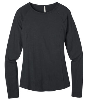 Mountain Khakis Women's Solitude Long Sleeve Shirt, Black, hi-res