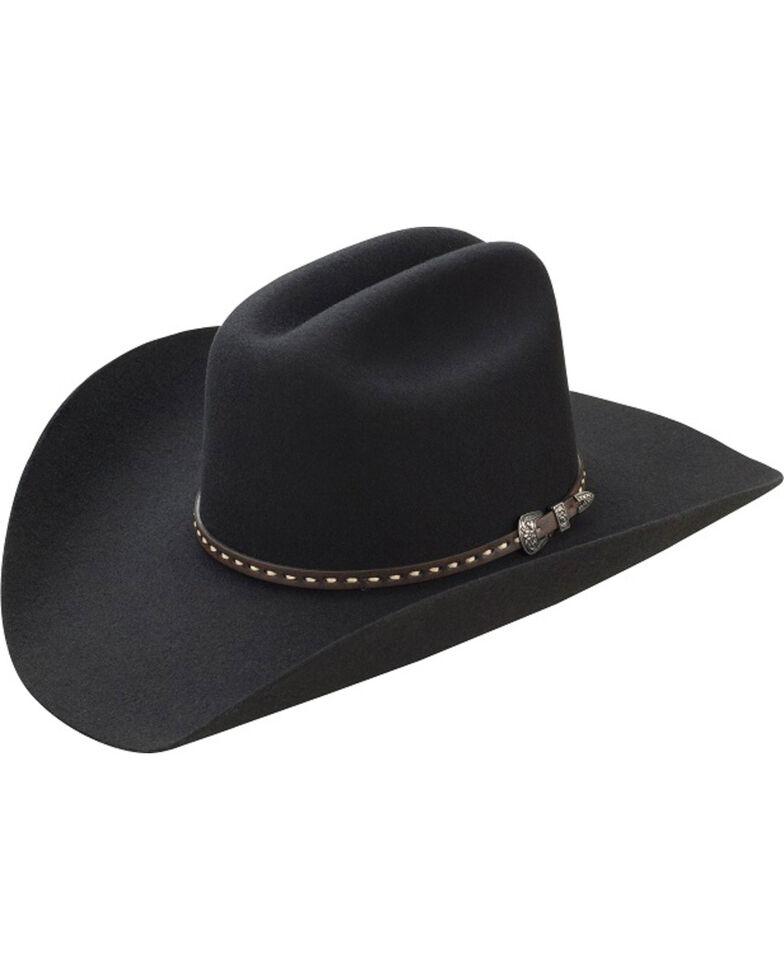 ab850f9e3cc Master Hatters Men s Black TY 3X Wool Felt Cowboy Hat