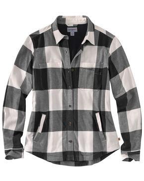 Carhartt Women's Rugged Flex Hamilton Fleece-Lined Shirt, Natural, hi-res