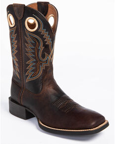 Ariat Men's Brown Sport Ranger Western Boots - Square Toe , Brown, hi-res