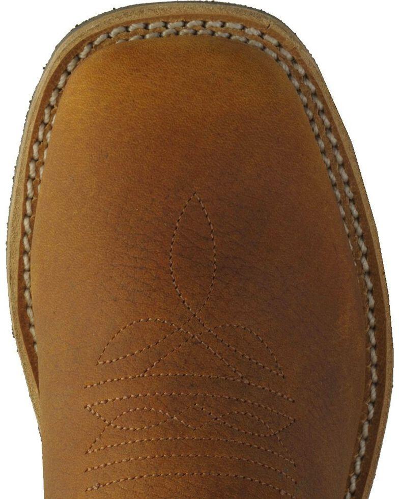 Old West Children's Copper Corona Calf Cowboy Boots - Square Toe, Copper, hi-res